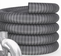 Enkelwandig Flexibel, diameter inwendig 111mm/ uitw.117mm  FLEXIBEL/Per m1