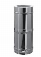 250 tot 480 mm Telescopisch element M/V  Ø100mm