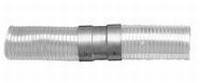 Aansluiting: klik-aansluiting flex - flex  Ø130mm
