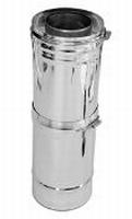 320 tot 460 mm - 200PaTelescopisch element M/V  Ø150mm