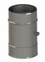 250 mm Element met 1 testaansluiting M/V  Ø130mm
