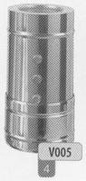 360 mm Speciaal element (3), diameter 130 mm  Ø130mm