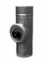 Element met waterdicht inspectieluik  Ø125mm