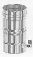 320 tot 480 mm Regelbaar element  Ø100mm