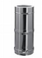 250 tot 480 mm Telescopisch element M/V  Ø150mm