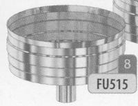 Dop: condensdop met afloop onderaan, diameter 80 mm  FU5 /p.stuk