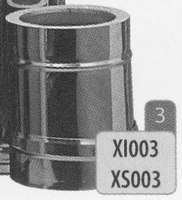 250 mm Element, diameter 150 mm  Titan DW/p.st.