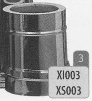 250 mm Element, diameter 200 mm  Titan DW/p.st.