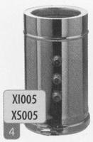 360 mm Element + 3 test aansluitingen, diameter 180 mm  Ø180mm