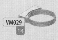 Beugel: muurbeugel, diameter 120 mm  DWmammoet/p.st