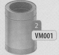 390 mm Element, diameter 200 mm  DWmammoet/p.st