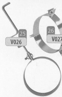 Beugel: ophangbeugel, diameter 200 mm  Ø200mm