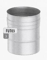 250 mm Element, diameter 100 mm  FU-TITAN/p.stuk