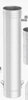 1000 mm Speciaal element met afdalingkit, diameter 125 mm  FU-TITAN/p.stuk