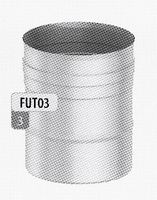 250 mm Element, diameter 200 mm  FU-TITAN/p.stuk