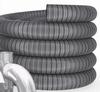 Enkelwandig Flexibel, diameter inwendig 100mm/ uitw.106mm FLEXIBEL/Per m1