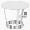 Kap: standaard regenkap, diameter 80 mm Ø80mm