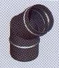 Bocht 45 graden, diameter 100 mm FU5N /p.stuk