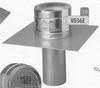 Vertrekplaat: versterkte vertrekplaat (3mm), diameter 350 mm DW/p.stuk