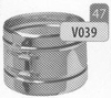 Klemband, diameter 350 mm DW/p.stuk