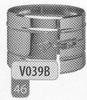 Klemband snelle sluiting, diameter 130 mm Ø130mm
