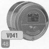 Trekregelaar RVS (inox) voor Profinorm, diameter 130 mm per stuk