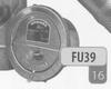 Trekregelaar (past in FU-38 T-stuk voor trekregelaar) per stuk