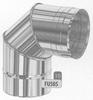 Bocht: 0-90 graden oriënteerbare bocht, diameter 130 mm FU5 /p.stuk