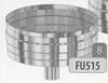 Dop: condensdop met afloop onderaan, diameter 130 mm FU5 /p.stuk