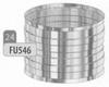Mof: aansluitmof beide zijden vrouwelijk, diameter 130 mm Ø130mm