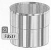 Overgangsstuk flexibel, diameter 130 mm Ø130mm