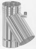 T-stuk 135 graden, diameter 130 mm FU5 /p.stuk
