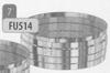 Dop: voor T-stuk, diameter 200 mm FU5 /p.stuk