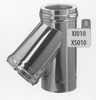 T-stuk 135 graden, diameter 200 mm Titan DW/p.st.