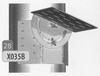 Steun: Daksteun kort en draaiend Ø250mm