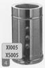 360 mm Element + 3 test aansluitingen, diameter 130 mm Ø130mm