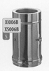360 mm Element + inspectieluik, diameter 130 mm Tisend DW/pst
