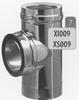 T-stuk 90 graden, diameter 130 mm Tisend DW/pst