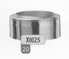 Eindstuk: konisch eindstuk, diameter 150 mm Titan DW/p.st.