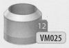 Eindstuk: konisch eindstuk, diameter 120 mm DWmammoet/p.st