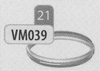 Klemband, diameter 120 mm DWmammoet/p.st