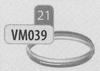 Klemband, diameter 160 mm DWmammoet/p.st