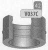 Aansluitstuk: multi-doeleind, diameter 300 mm DW/p.stuk