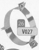 Beugel: tuidraadbeugel, diameter 300 mm DW/p.stuk