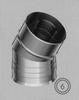 Bocht 30 graden, diameter 080/125 mm TWIN /p.stuk