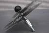 Ragebol, staal, met dubbele spiraal Ø 350 mm per stuk