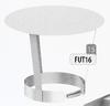 Kap: standaard regenkap, diameter 125 mm FU-TITAN/p.stuk