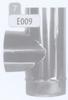 T-stuk 90 graden, diameter 100 mm FLEX / p.stuk