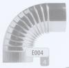 Bocht: Geplooide bocht 90 graden, diameter 180 mm FLEX / p.stuk